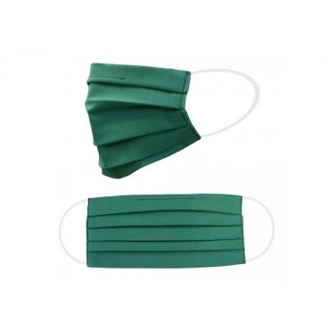 Dvojvrstvové ochranné rúško - zelené