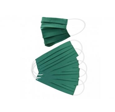 5 ks - Balenie dvojvrstvových ochranných rúšok - zelené