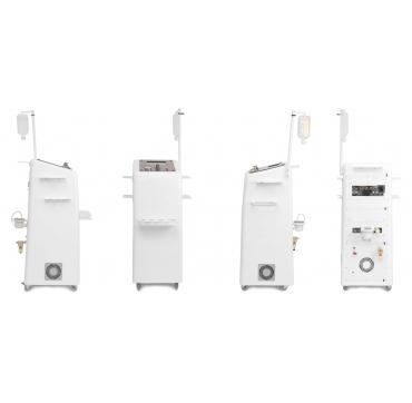 Multi - Skin scrubber, rádio frekvencia s laserom, bezihlová mezoterapia a diamantová dermabrázia