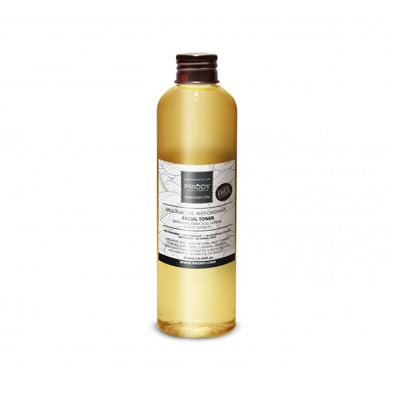 PRIODY - Multiaktívna micelárna voda s rastlinnými extraktmi 250ml