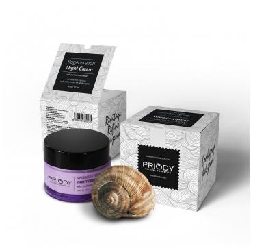 PRIODY - Nočný krém so slimačím extraktom