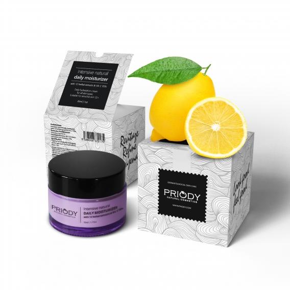 PRIODY | Intenzívny prírodný hydratačný krém s 12 rastlinnými extraktmi a vitamínom C 15%