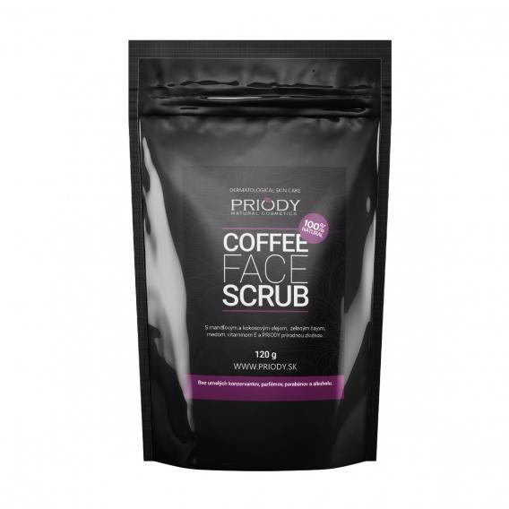 PRIODY - prírodný kávový peeling na tvár
